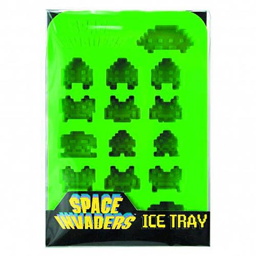 Space Invaders Silicone Ice Cube Tray