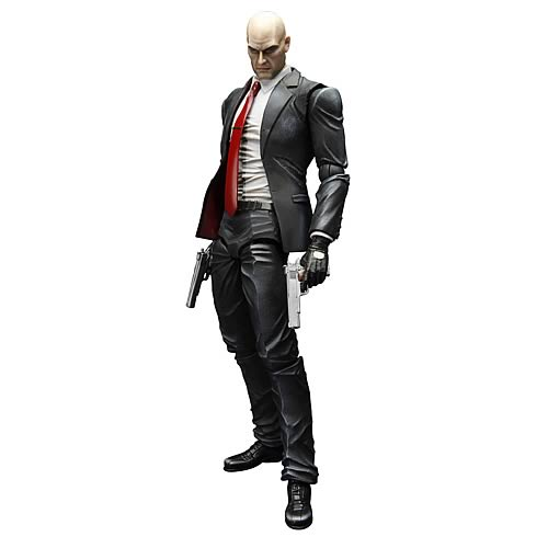 Hitman Absolution Agent 47 Play Arts Kai Action Figure