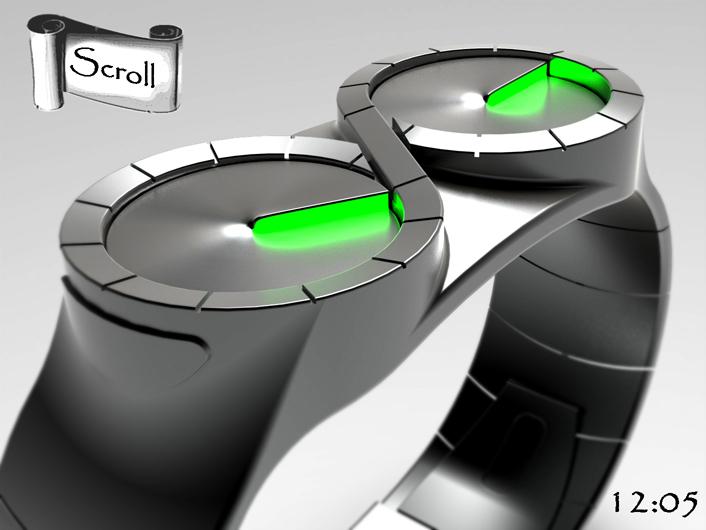 Scroll MkII design update