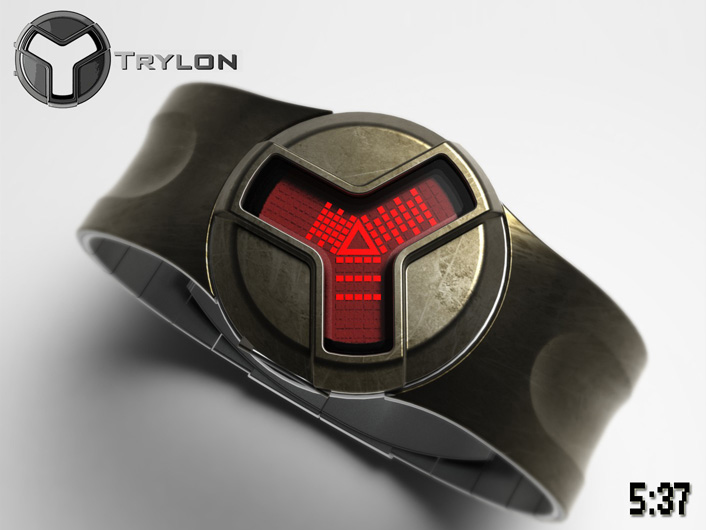 Trylon LCD watch