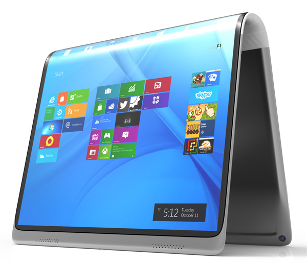 PANDORA flexible laptop PC
