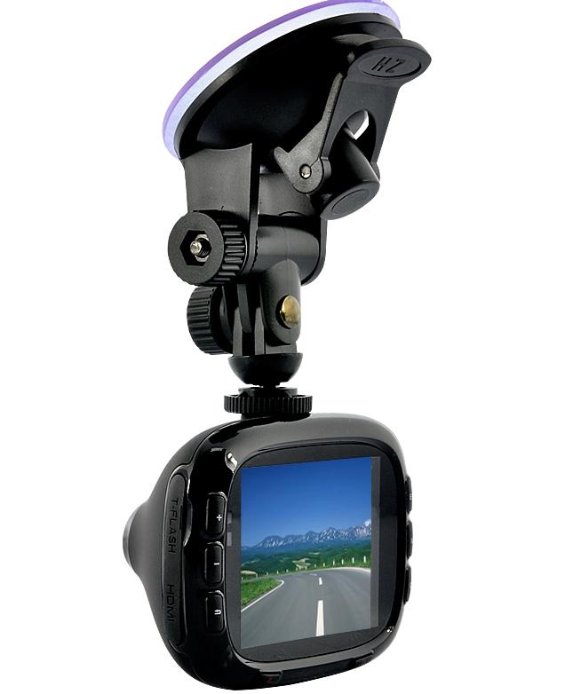Car DVR – 1080p, HDMI, Motion Detection, 16x Zoom, Flashlight