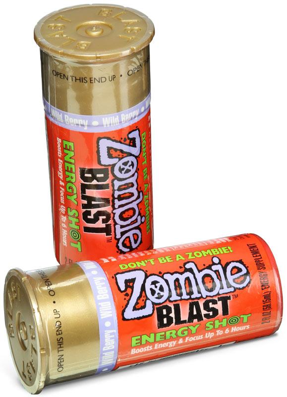 Zombie Blast Energy Shots
