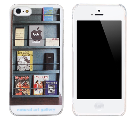 Bookshelf case for iphone 5