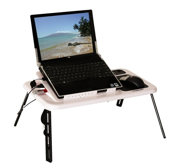 USB Foldable Cooling Laptop table