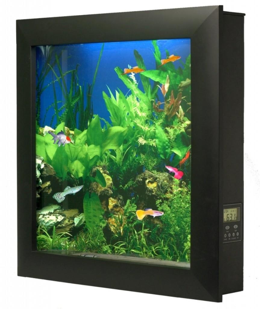 Wall Mounted Aquarium Gadgets Matrix