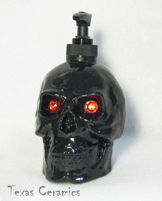 Skull Pump Dispenser