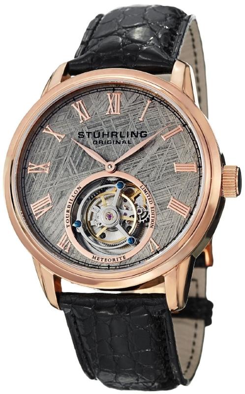 Stuhrling Original Men's Rose-Tone Watch