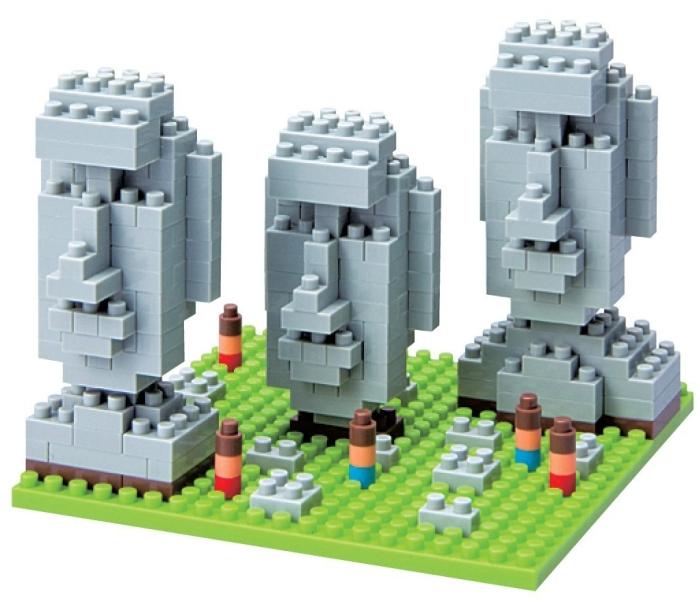Nano Blocks Easter Island