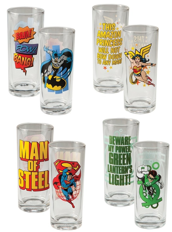 DC Comics Glass Set