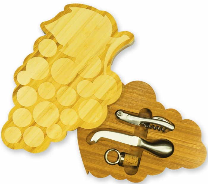 4-Piece Cheese and Wine Set