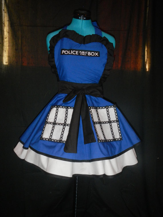 Doctor Who Tardis Apron Pinafore