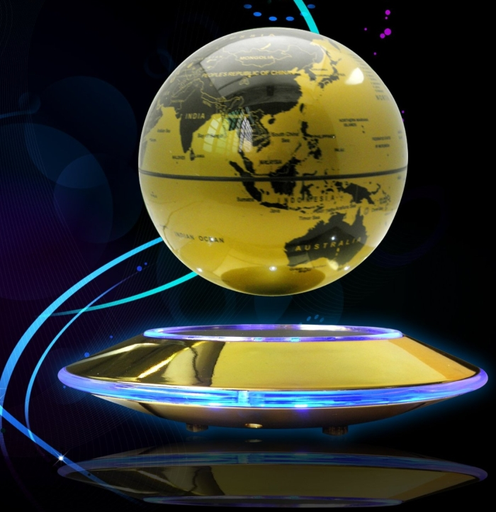 Rotation Mirror Luxury Levitation Globe