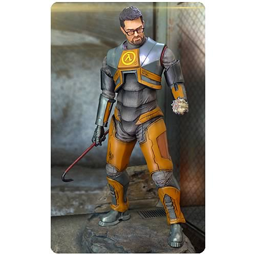 Half-Life 2 Gordon Freeman 1:4 Scale Statue