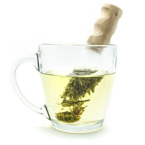 Glass Tea Infuser and Mixer