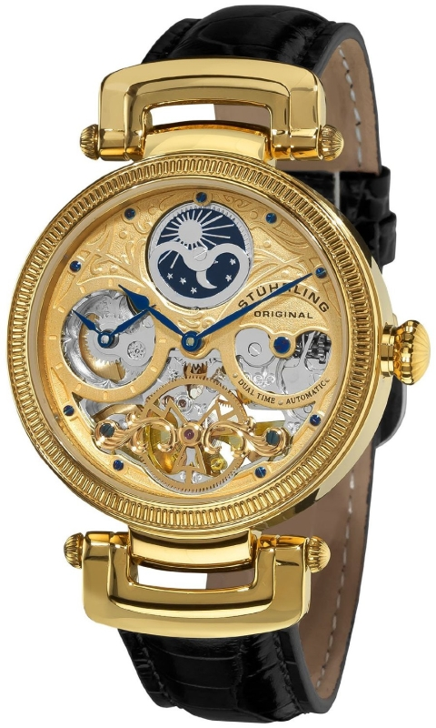 Stuhrling Original Men's Gold  Watch