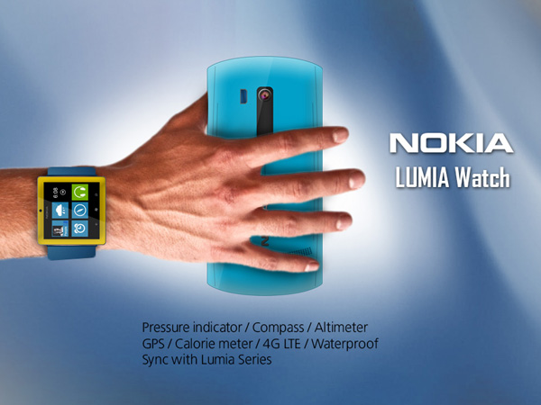 Nokia LUMIA Watch concept