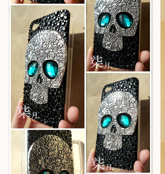 Skull case for iphone 5