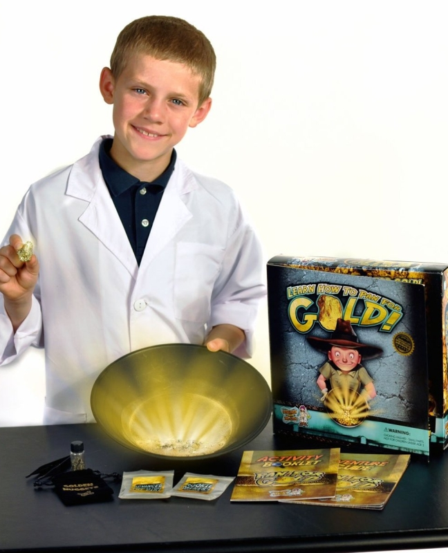 Pan for Gold Science Kit