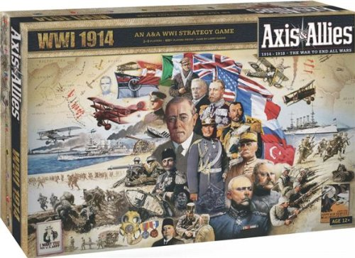 Axis and Allies 1914 World War I Baord Game
