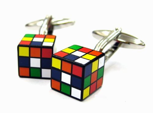 Cube Game Fun Cufflinks