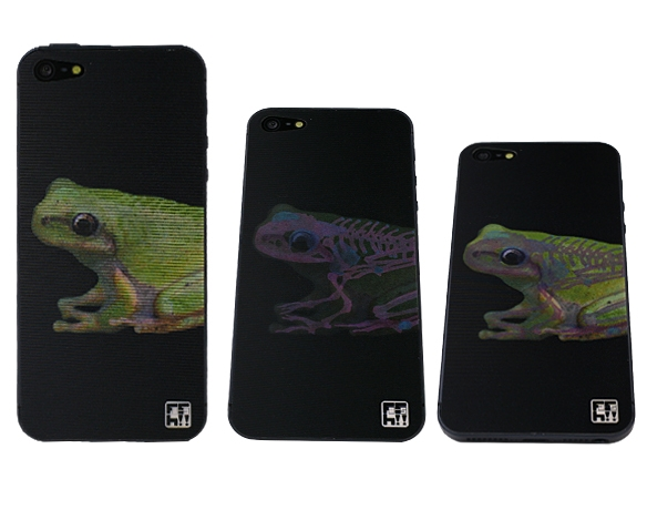 Frog 3D Animation Skin for iPhone 5