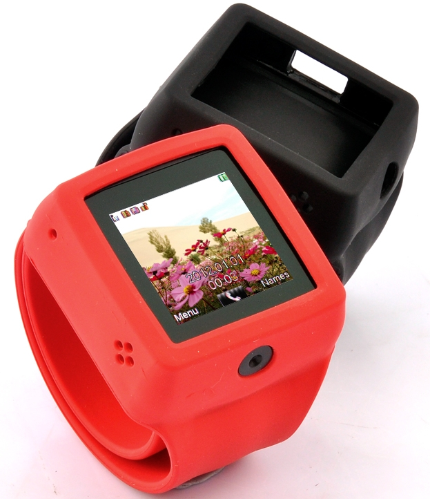 "Mobile Phone Watch ""Snap-On"""