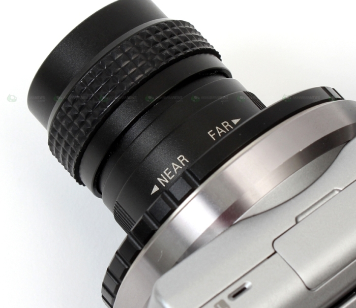 Cinema Lens with Mounter for NEX 3/5/7