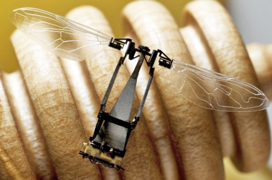 Flying Robobees to Pollinate Flowers as Bee Populations Decline