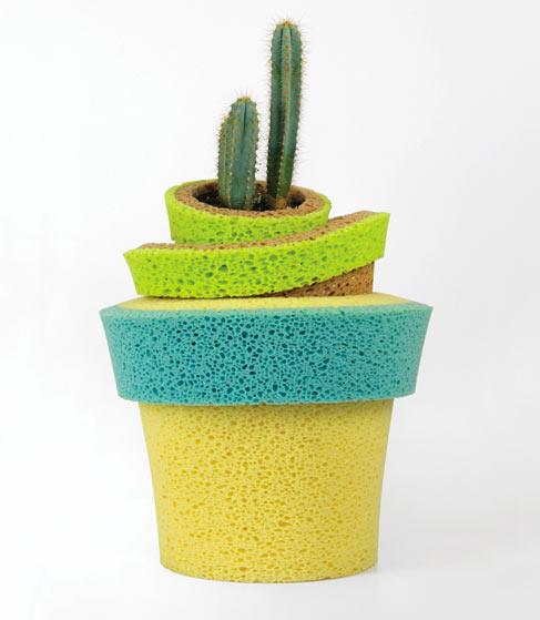 Sponge Vase