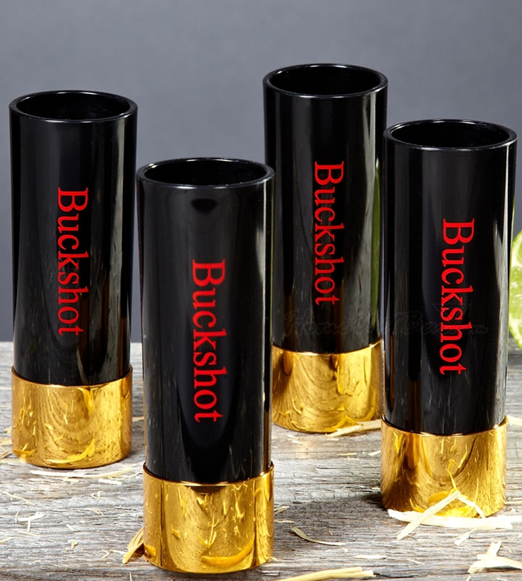 Buckshot shot glass