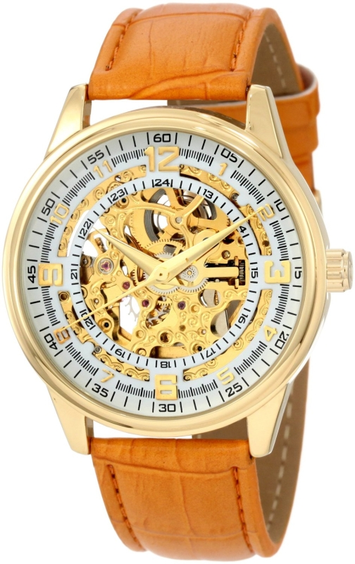 Akribos XXIV Men's  Automatic Gold Watch