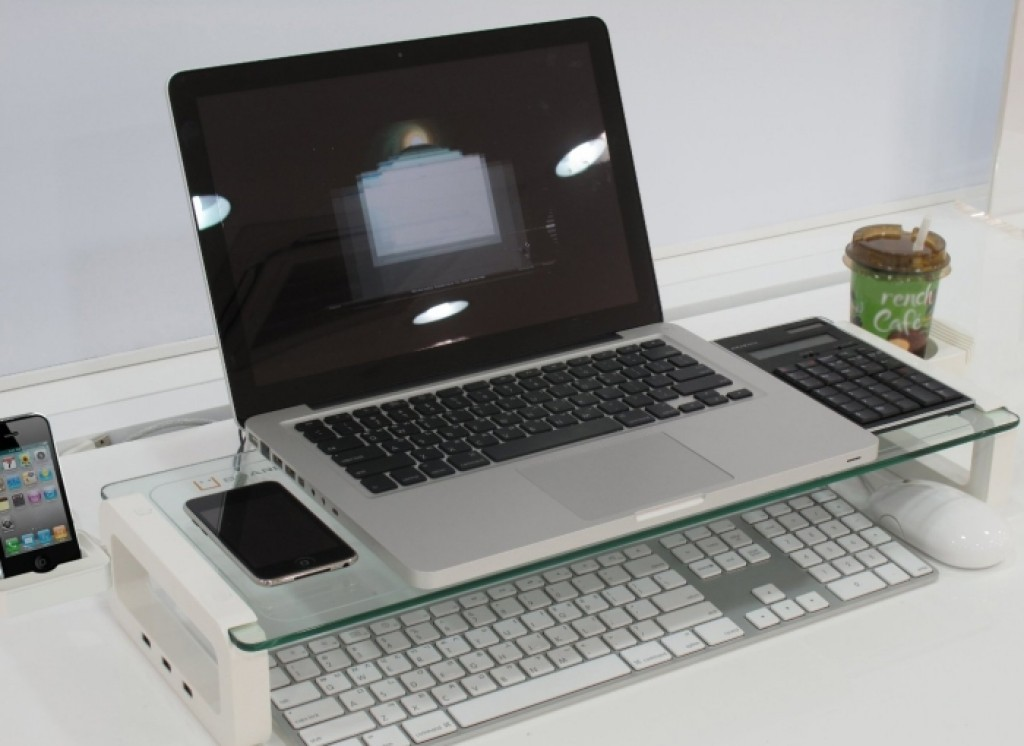 Monitor Stand And Multi Function Board With Built In 3