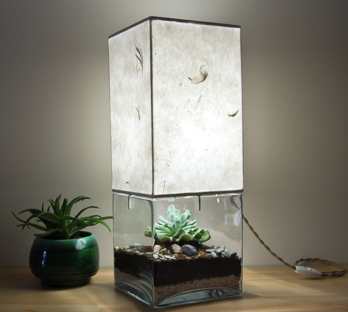 Terrarium/Display Table Lamp
