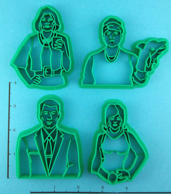 Archer Cookie Cutters