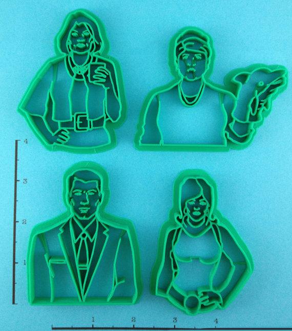 Archer Cookie Cutters