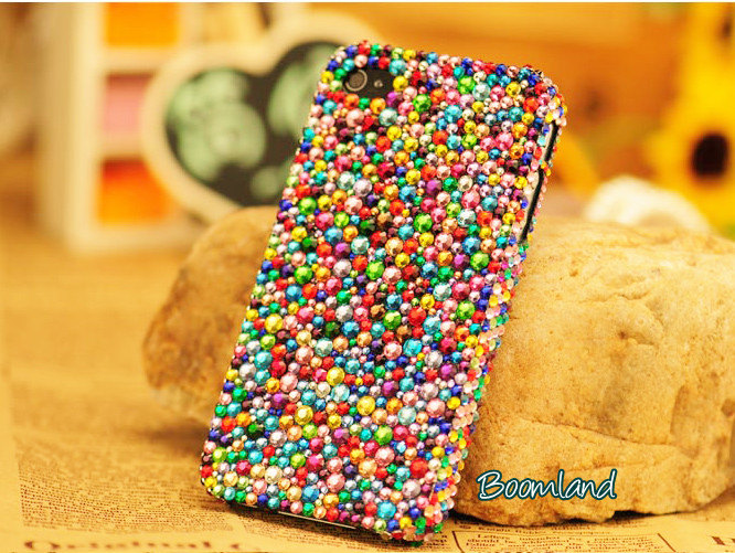 Bling Colorful Crystals iPhone 5 case