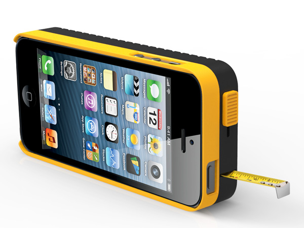 iPhone 5 Case With Tape Measure Concept