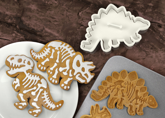 DIG-INS FOSSIL COOKIE CUTTERS
