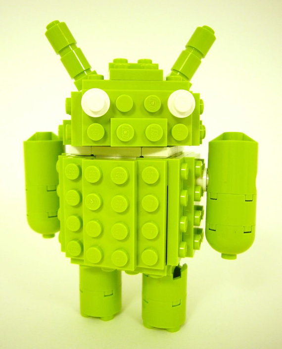 Android Brick Robot Companion