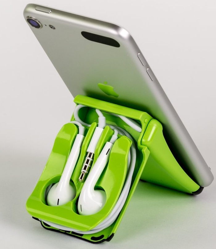 Green EarPod Case and Stand iPhone 5, iPod Touch, iPad Mini