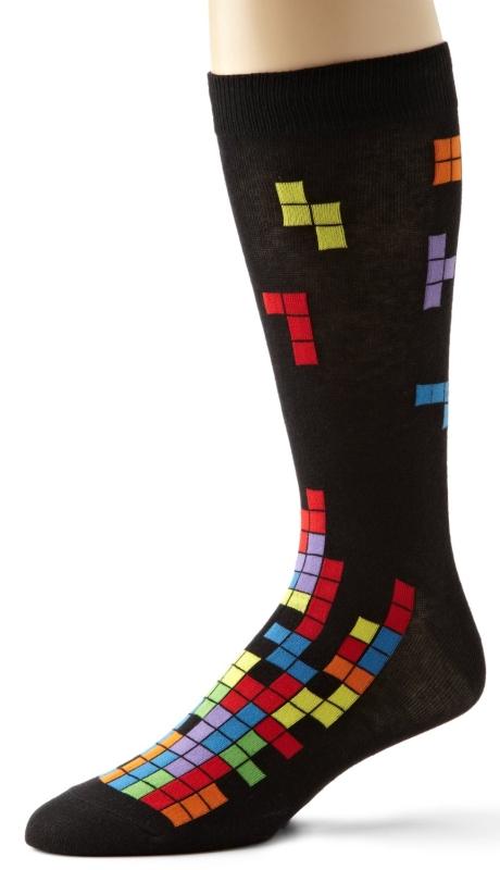 Socks Men's Tetris Sock