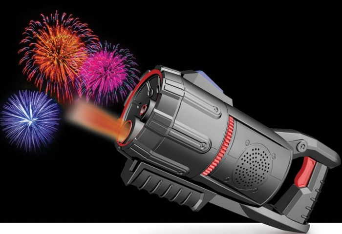 The Handheld Fireworks Light Show Projector