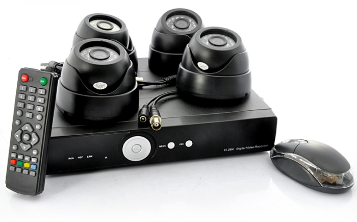 "4 Camera Security System ""SecurONE Plus"""