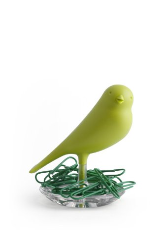 Green Paper Clip Holder