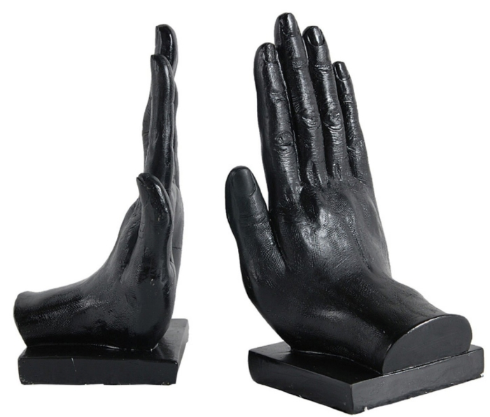 Hand Bookends