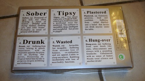 Drunk Glass Coasters