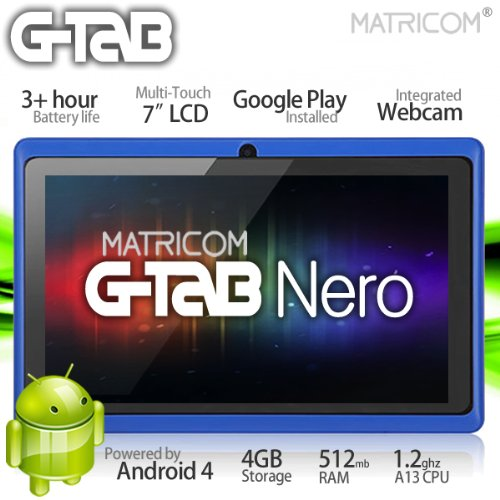 7″ G-Tab Nero Tablet PC
