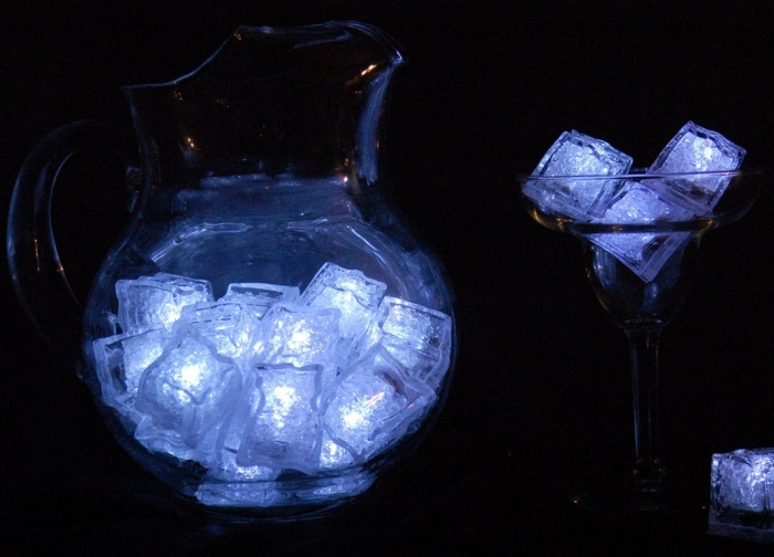 Light up LED Ice Cubes