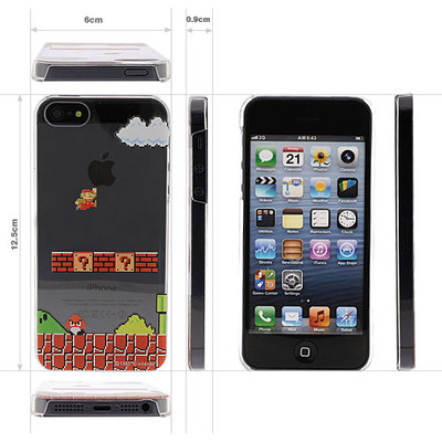 Super Mario Bros. Hard iPhone 5 Case